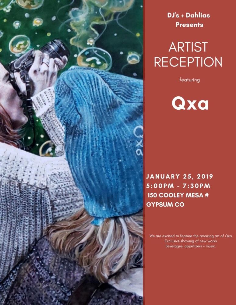 artist reception qxa